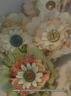 Recycled paper flowers wearable art pinterest recycle paper recycled paper flowers mightylinksfo
