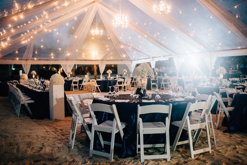 Wedding Reception At Destination Wedding At Royalton White Sands In