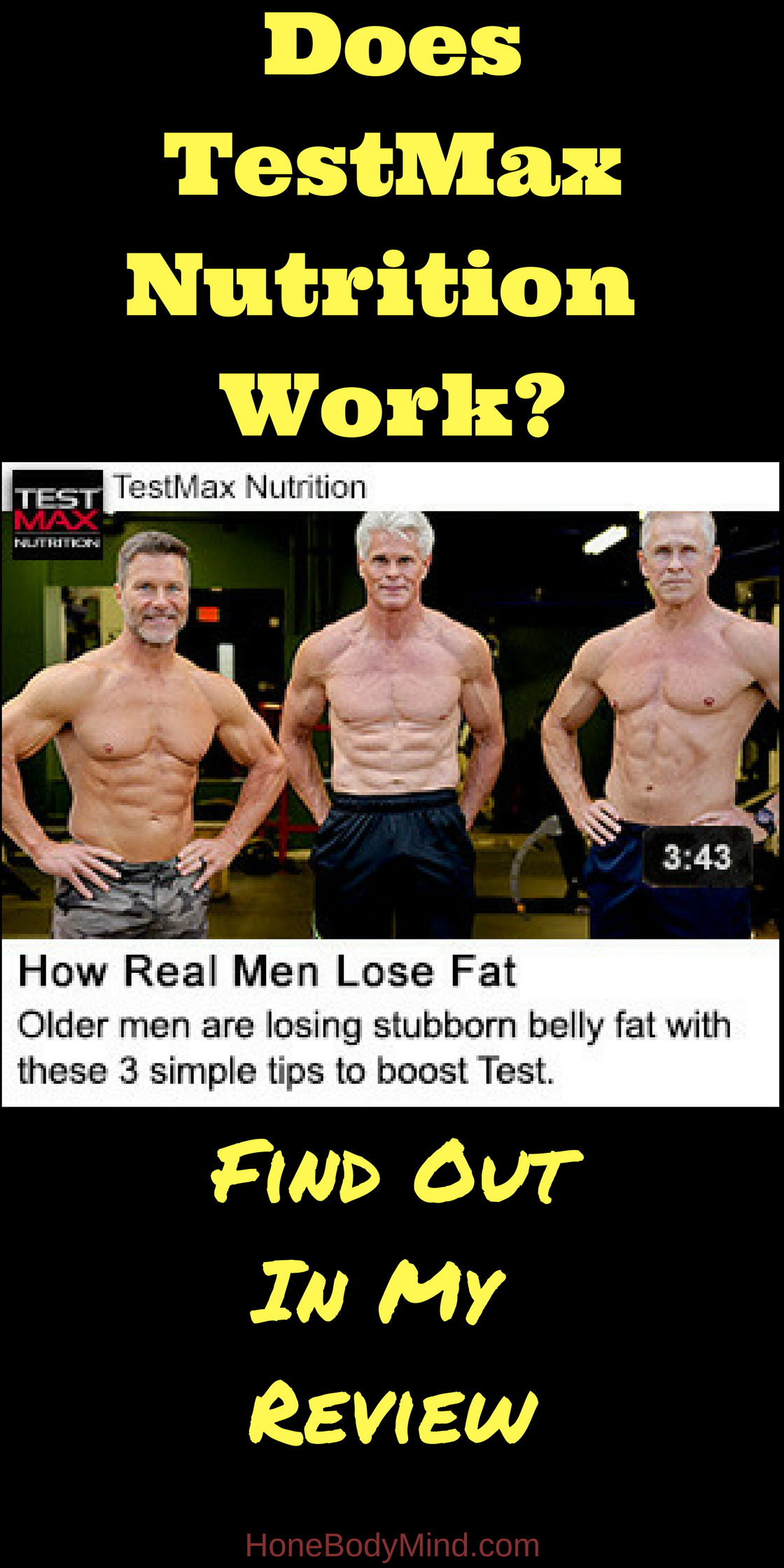 Is Testmax Nutrition A Scam Hone Body Mind Does