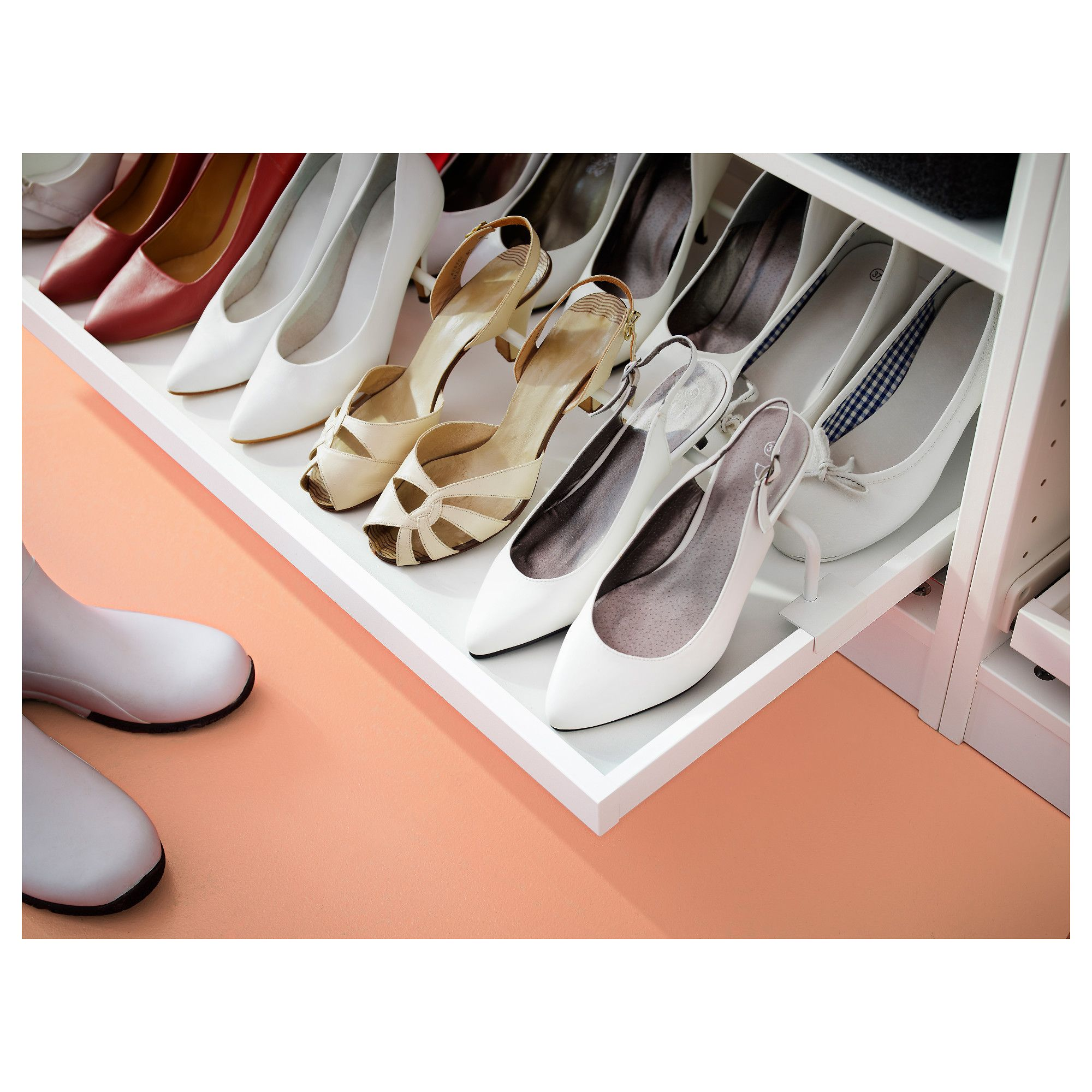 Cool IKEA KOMPLEMENT pull out tray with shoe rail