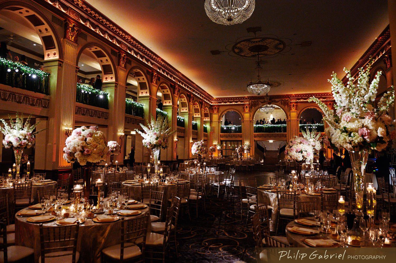 Beautiful Ballroom At The Ben Wedding Philip Gabriel Photography Wedding Ballroom Photography