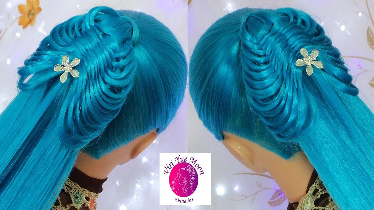 Butterfly ponytail cute u easy hairstyles the most beautiful