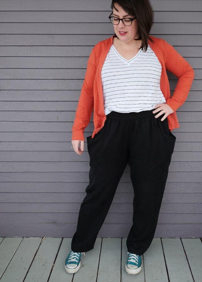 Sew liberated: arenite pants digital pattern   Slouchy pants, Pdf ...