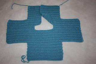 d99a2170e42c 1 piece crochet baby sweater