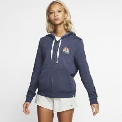 Photo of Hurley Sail Away Perfect Women's Full Zip Hoodie – Blue NikeNike