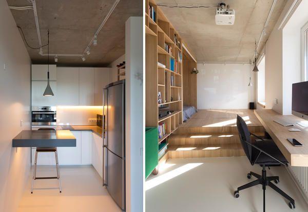 Arredare Bilocale ~ Salt & waters portable tiny house concept tiny houses square