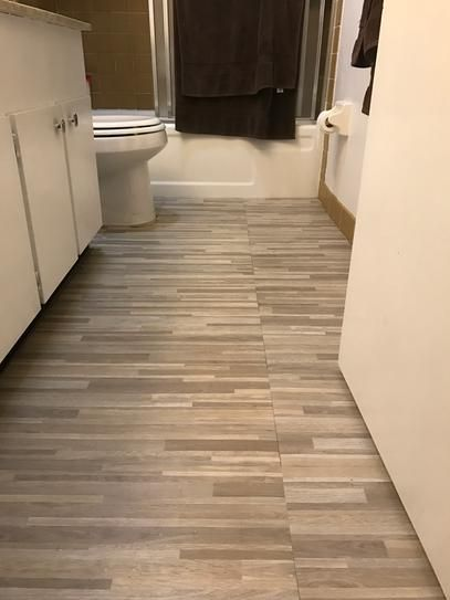 Trafficmaster Seashore Wood 12 In X 24 In Peel And Stick Vinyl Tile Flooring 20 Sq Ft Case Home Ideas 107 Chestnut Vinyl Tile Flooring Vinyl Til