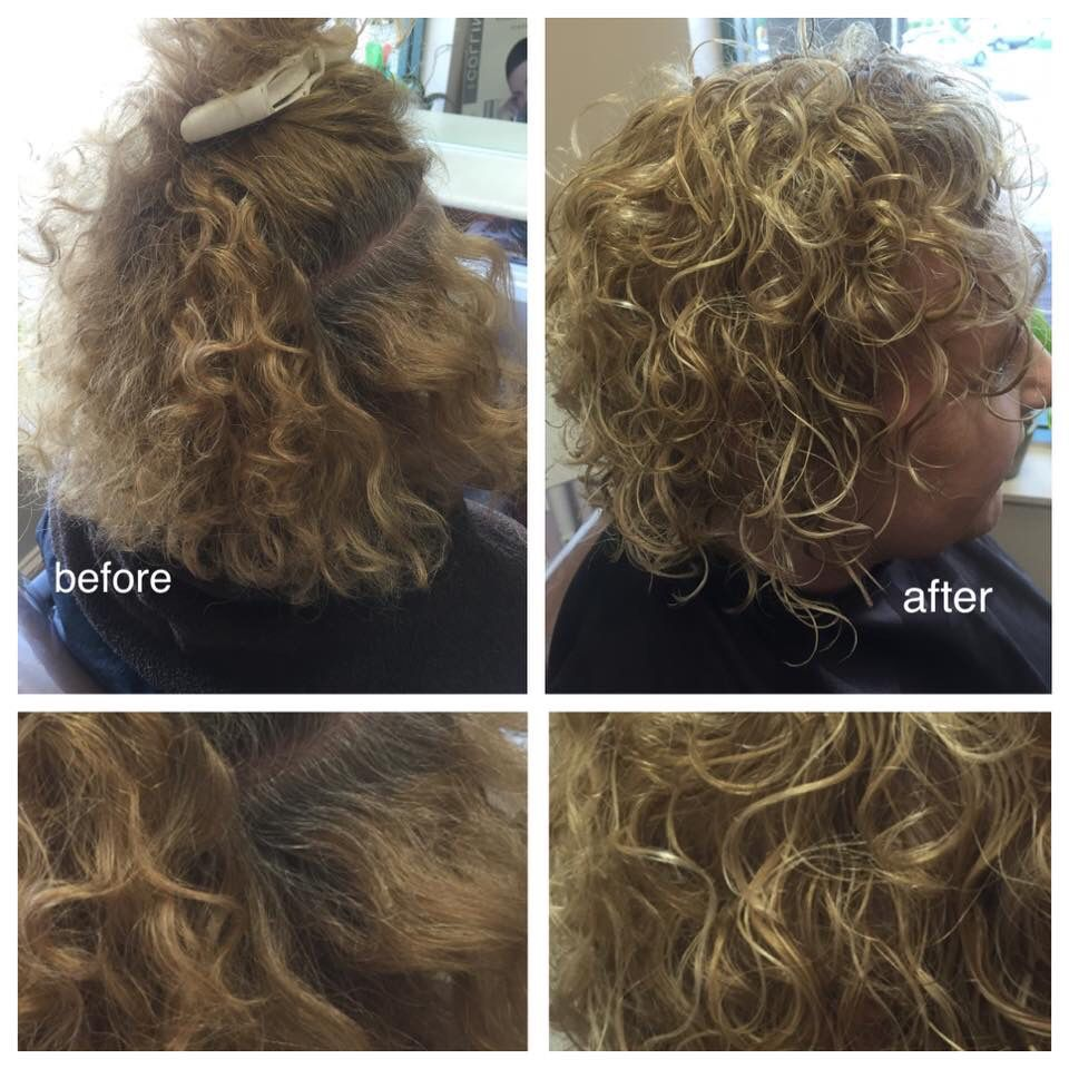 My Clients Love Their Ouidad Haircut And They Love Curls After