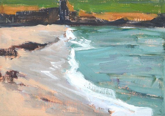 Hey, I found this really awesome Etsy listing at https://www.etsy.com/listing/196541445/la-jolla-beach-landscape-painting