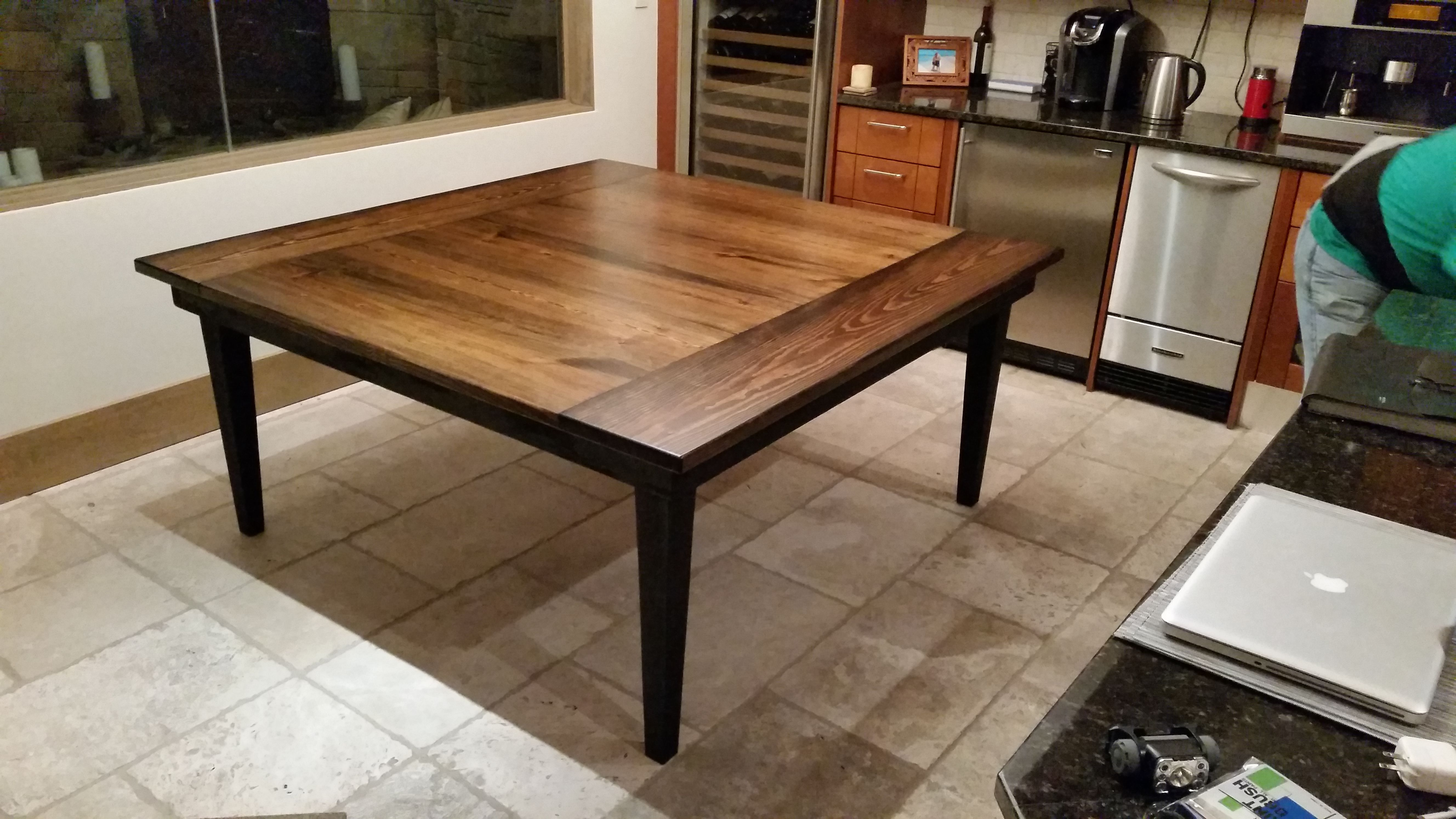 Square Farmhouse Dining Table Square Dining Tables Square