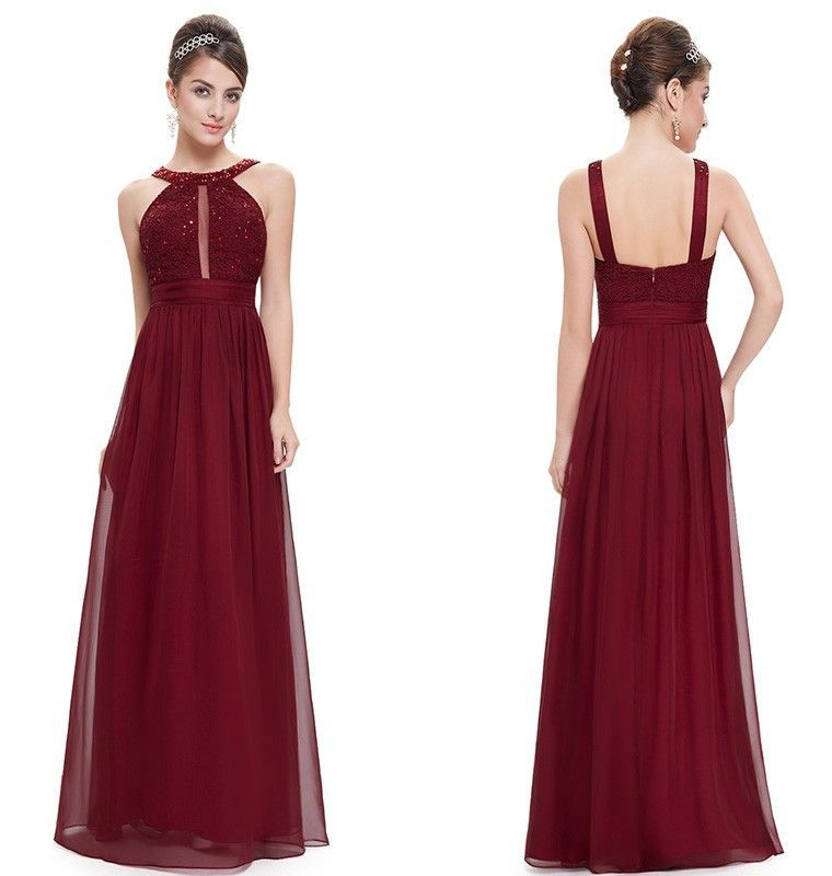 Women\'s Long Evening Dress for Wedding Event | ropa | Pinterest ...