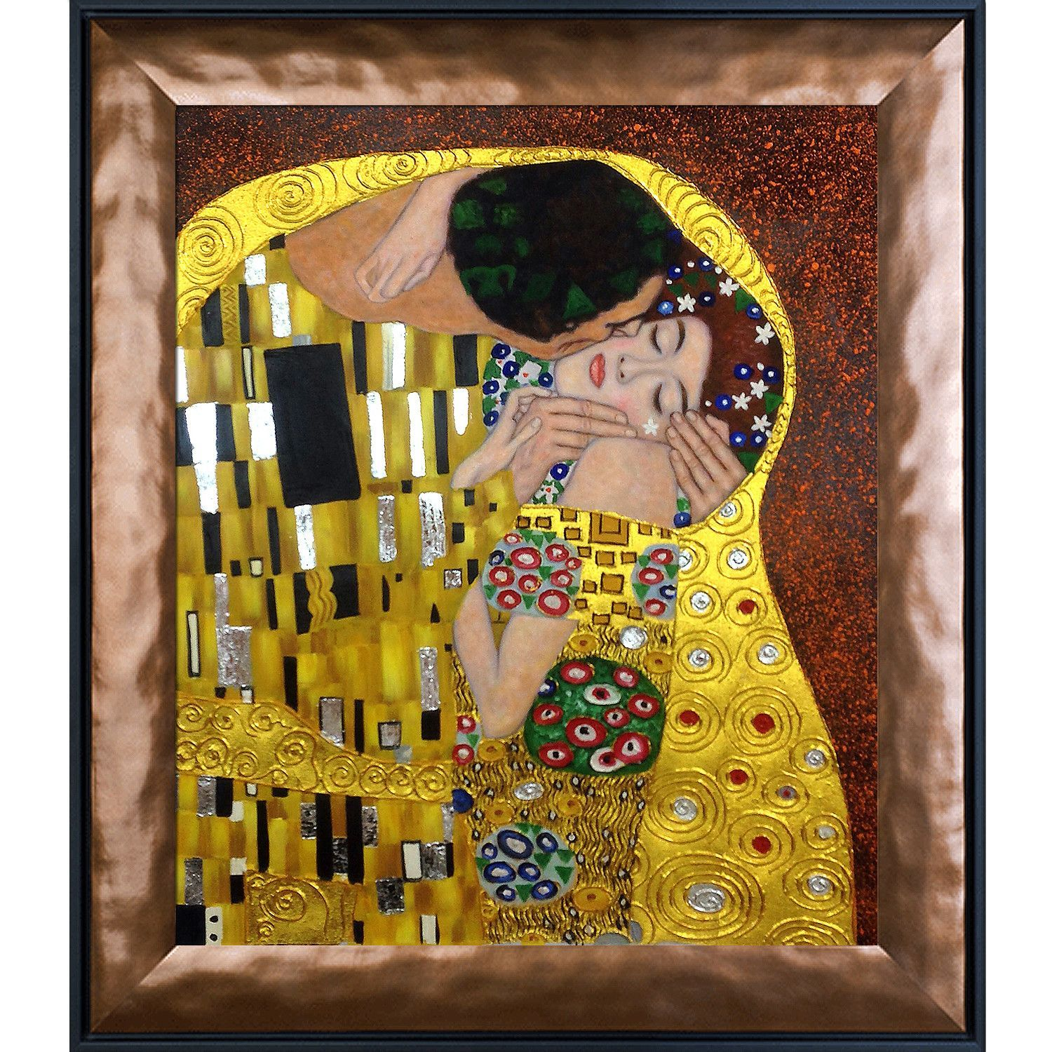 The Kiss\' by Klimt Framed Painting | Products | Pinterest