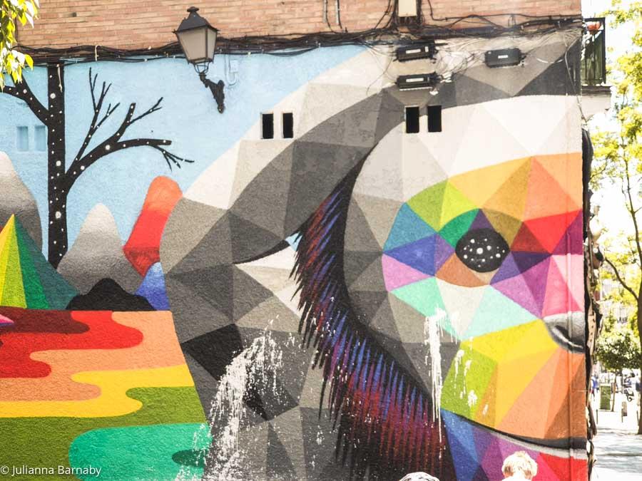 Discovering Street Art + Graffiti in Madrid
