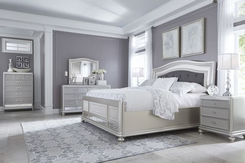 Ashley Furniture 4 Pc Coralayne Queen Bedroom Collection Apartment