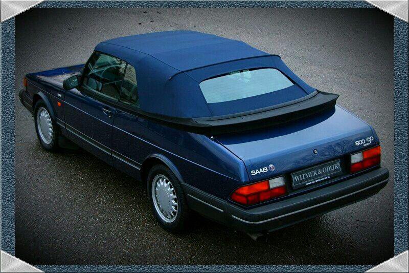 A Beautiful Rare 92 Saab 900 Ep Cabriolet