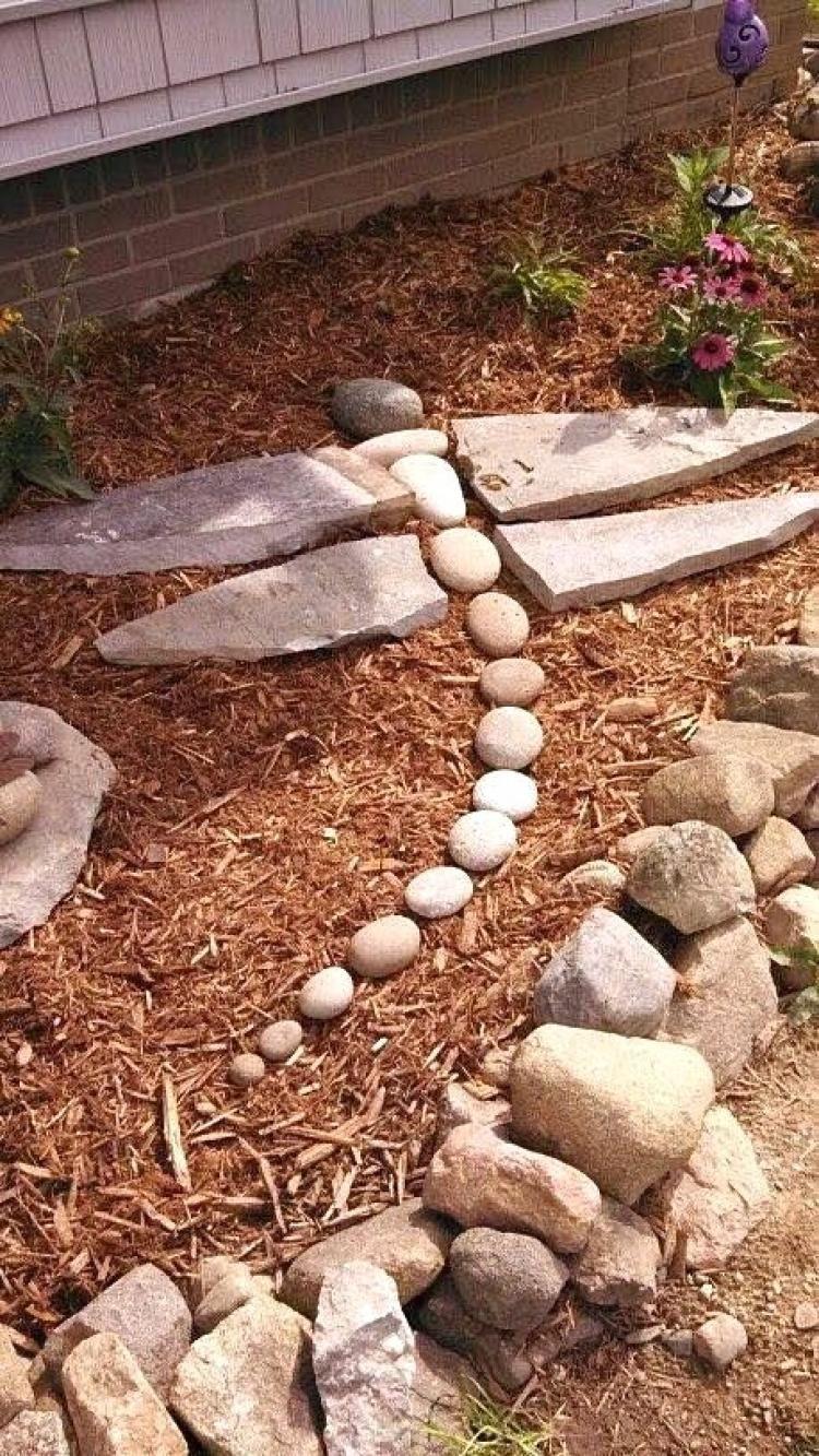 20 Best Rock Garden Landscaping Ideas Rock Garden Landscaping Yard Landscaping Backyard Landscaping Backyard landscaping ideas with rocks