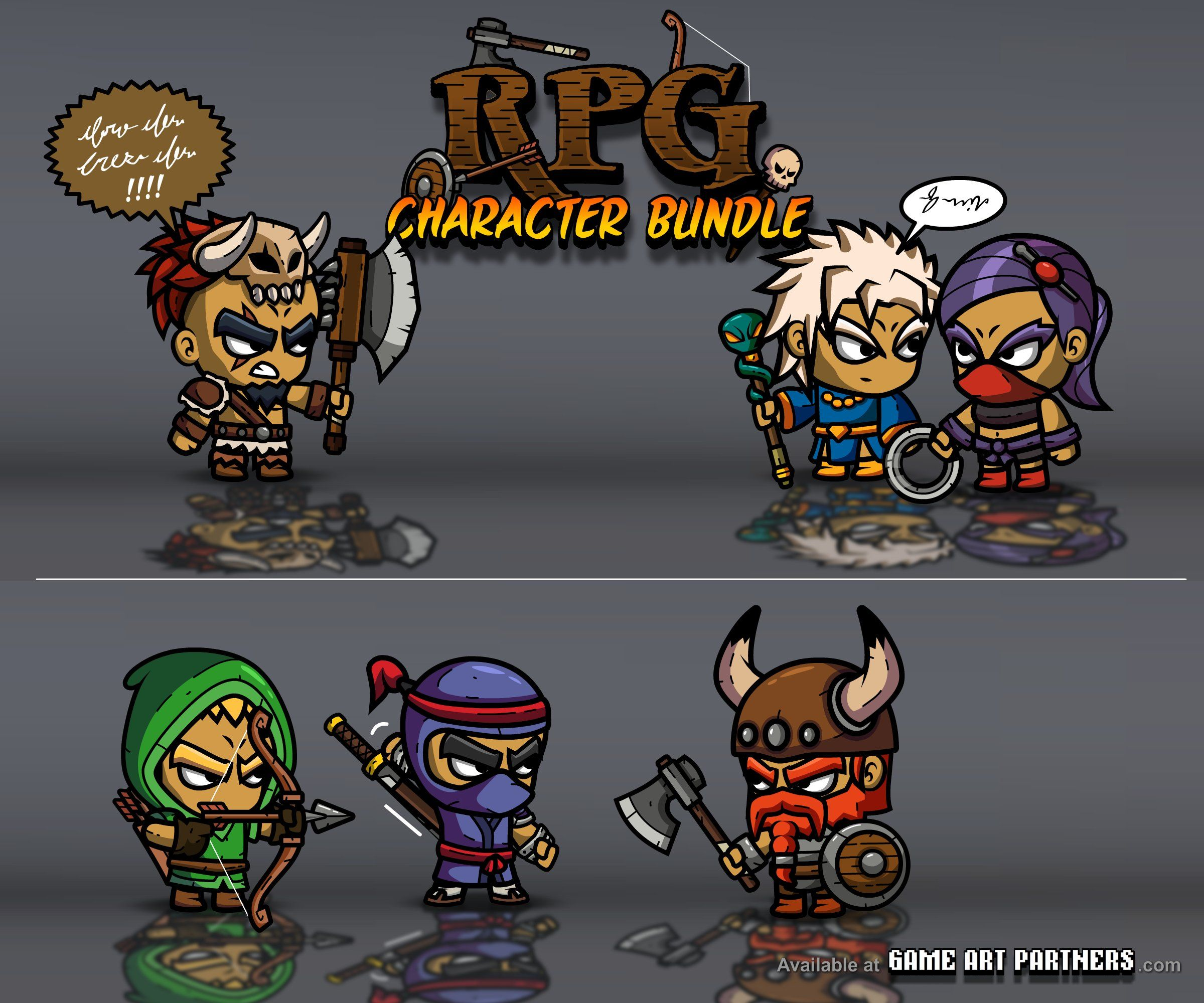 Pin by Game Art Partners on 2D Character Game Art | 2d game