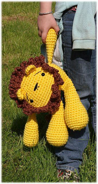Bobbly Wobbly Lion Crochet Pattern Toy Crochet Crochet And Fiber