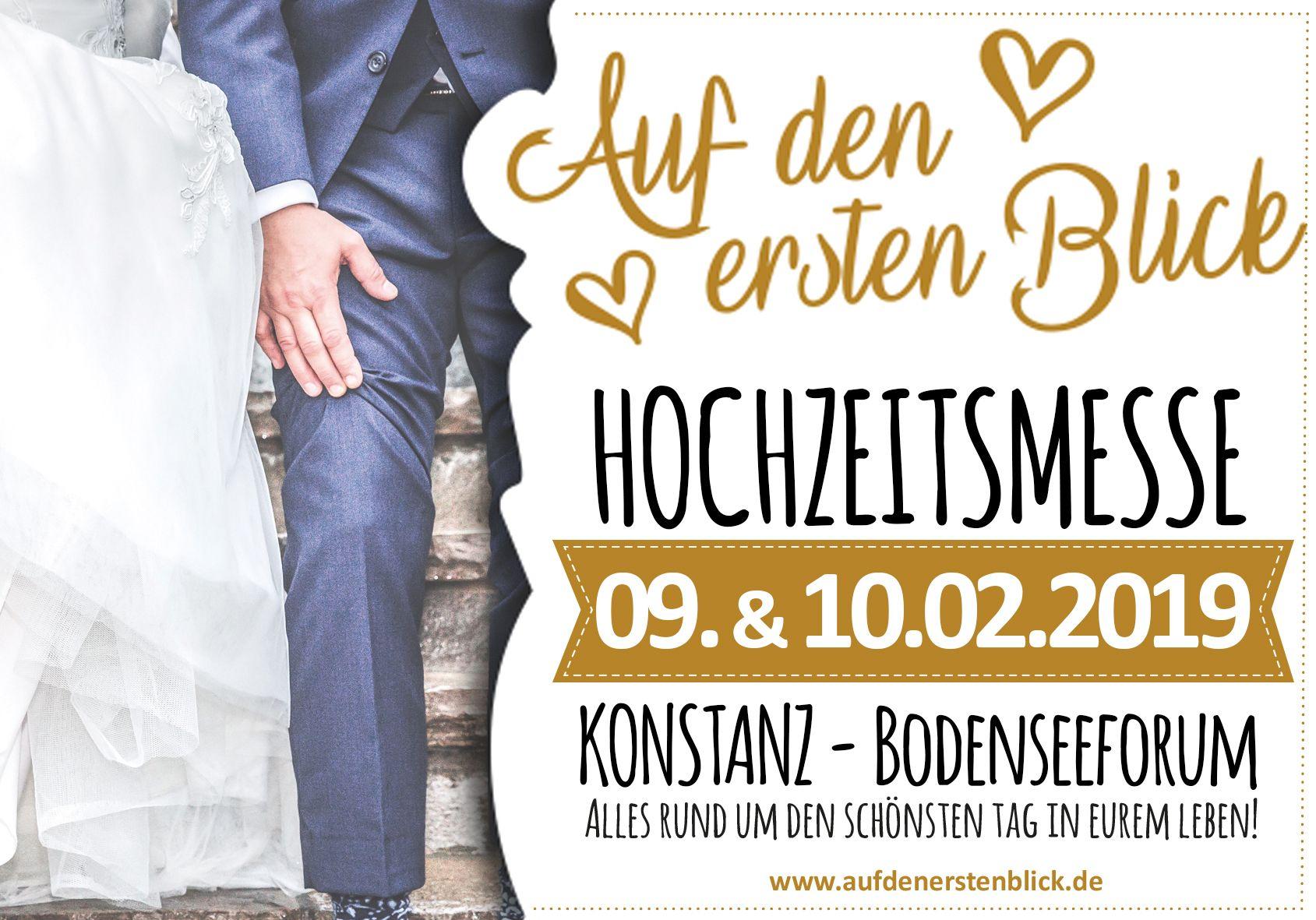 Hochzeitsmesse Konstanz 09 Und 10 Februar 2019 Hochzeitsmesse Hochzeit Messe