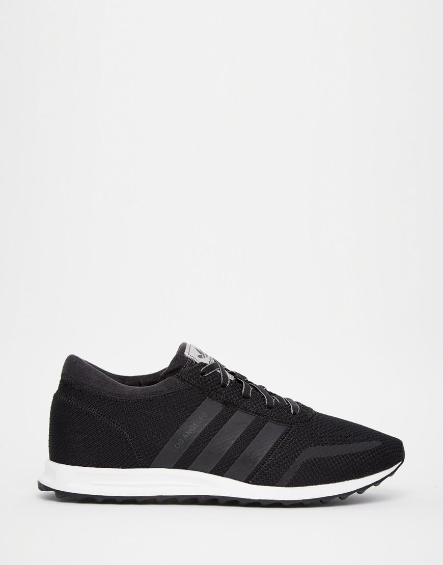 premium selection 24737 8da83 Image 1 of adidas Originals LOS Angeles BlackWhite Sneakers