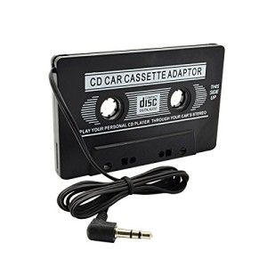 Play X Store® Universal Car Audio Cassette Adapter Car Connecting ...