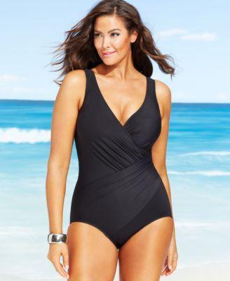 a38c57a5abbff Miraclesuit Plus Size Oceanus One-Piece Swimsuit | Plavky - Prádlo ...