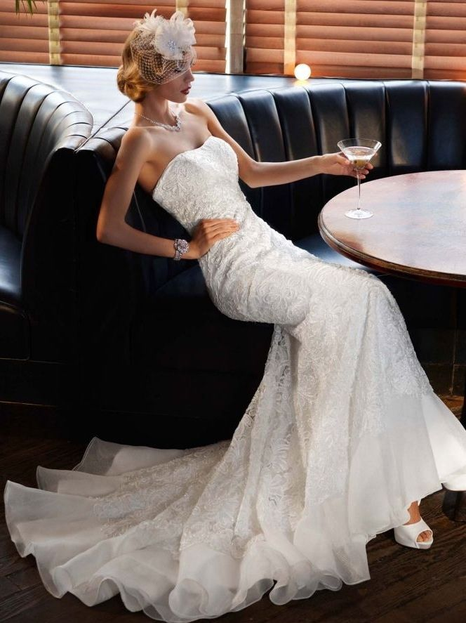 Galina Signature wedding gown- this is the dress I'm wearing in September