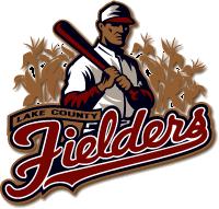 File Lakecountyfielders Png Wikipedia The Free Encyclopedia Baseball Teams Logo Lake County Sports Logo Design