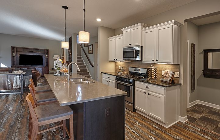 The Hamilton Model Kitchen In Our Ramsey Community The Woodlands