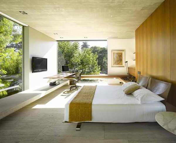 Inside Outside Home Design By South American Architect Beautiful Home Designs Bedroom Interior Bedroom Design