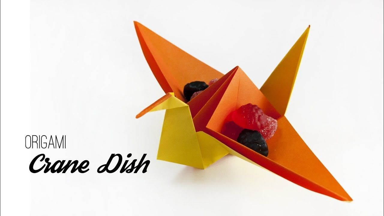 An interesting take on the traditional origami crane here the an interesting take on the traditional origami crane here the wings can be used jeuxipadfo Choice Image