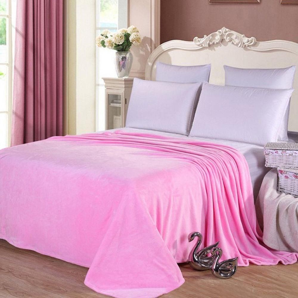 Condition New Without Tags A Brand New Unused And Unworn Item Including Handmade Items That Is Not In Origi Bed Blanket King Size Blanket Flannel Bedding