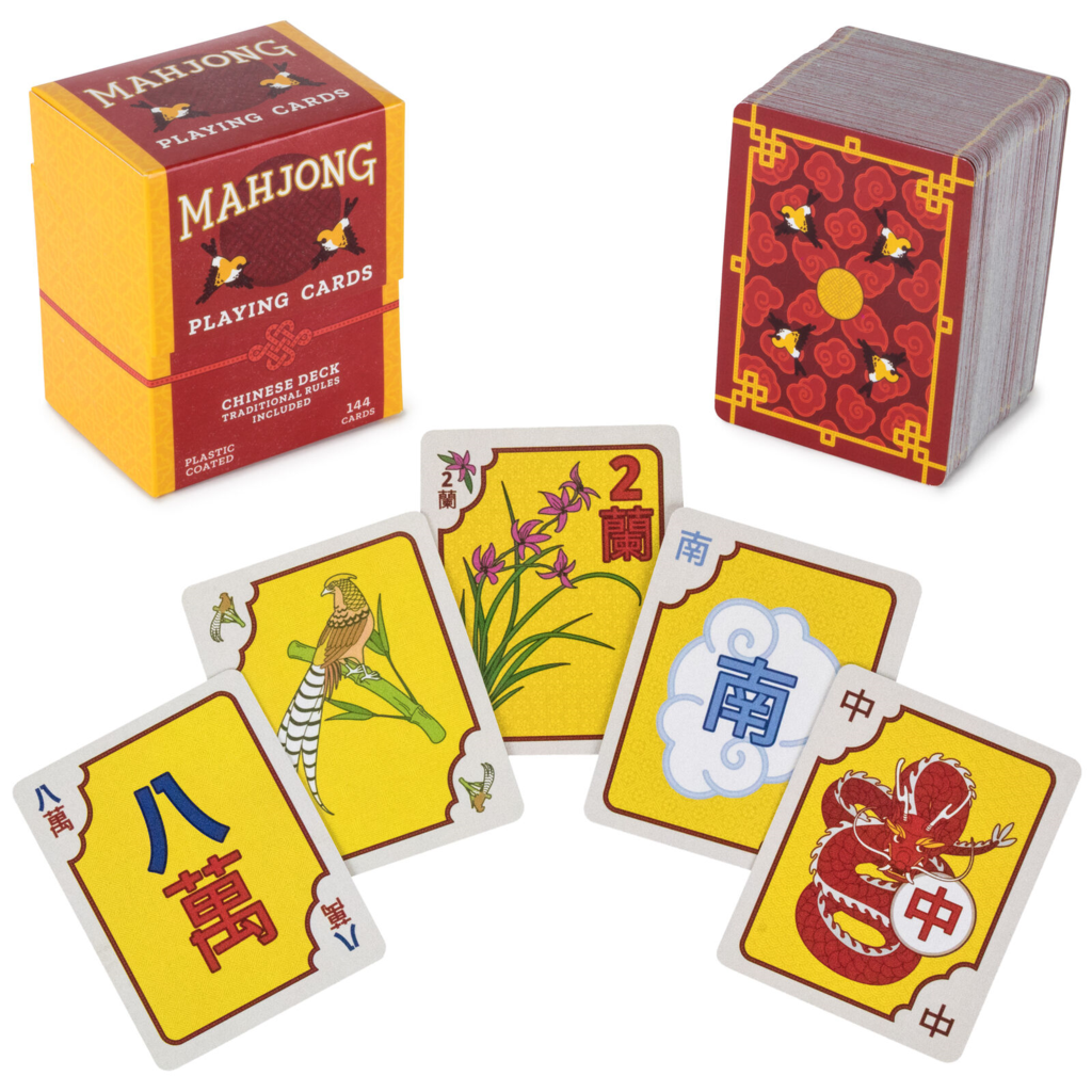 Chinese Mahjong Playing Cards Deck of cards, Mahjong
