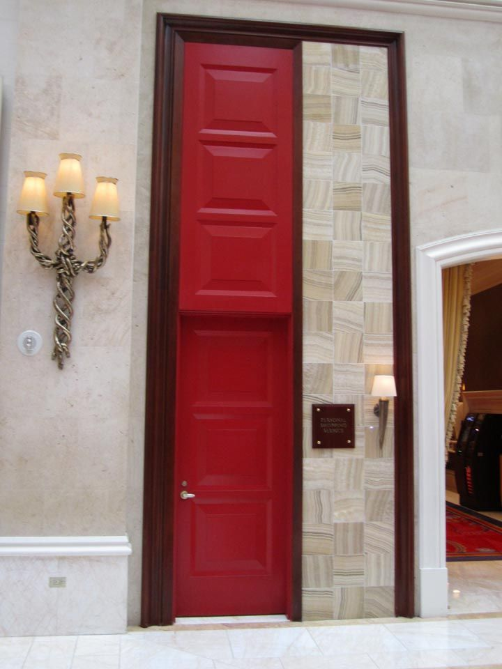 Red Door Las Vegas Doors Windows Pinterest Luxury Interior