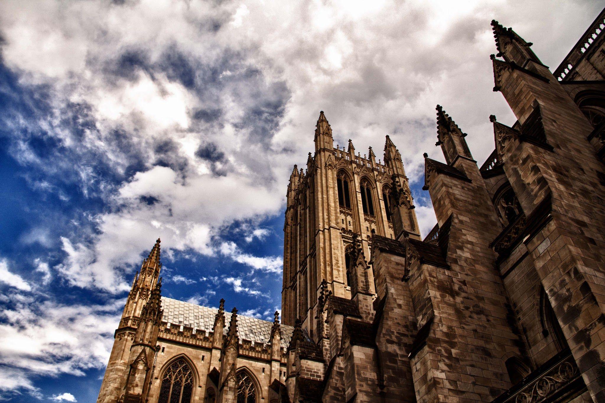 National Cathedral Washington Dc Hdr