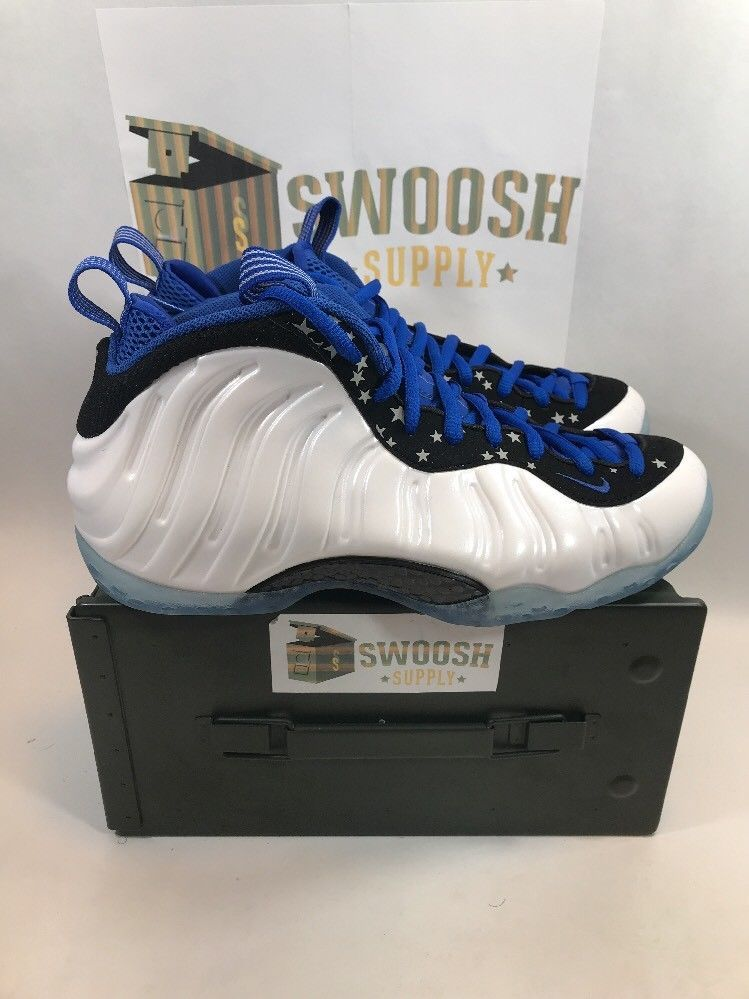 e42126ecbc0 Nike Foamposite Shooting Stars Pack Penny Hardaway Sz 10.5 679766-900 New  W box
