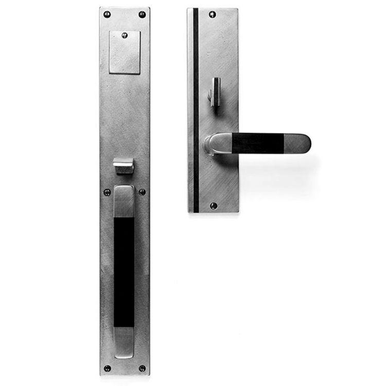 Cs Wh1618 Vertical Inlay Handle X Lever Mortise Lock Door Entry Set Sun Valley Bronze Entry Doors Mortise Lock