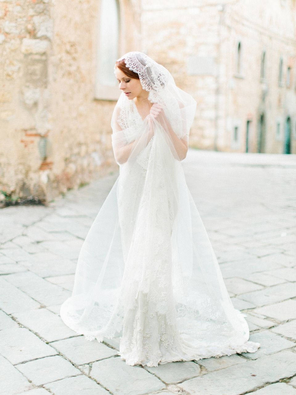 Cathedral wedding dress  SIBO Designs  FASHION  Bridal Veils u Accessories  Pinterest