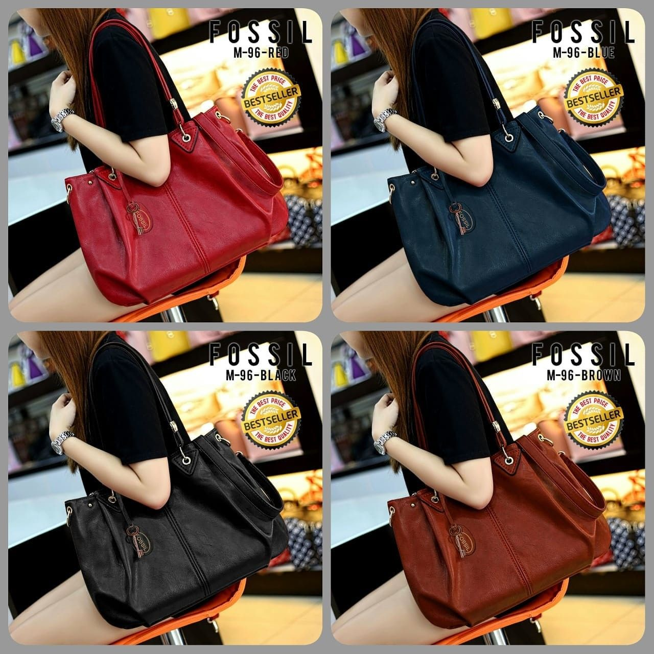 Fossil Bag Seri M96 Leather Quality Semipremiun 1 1 Kg Ukuran