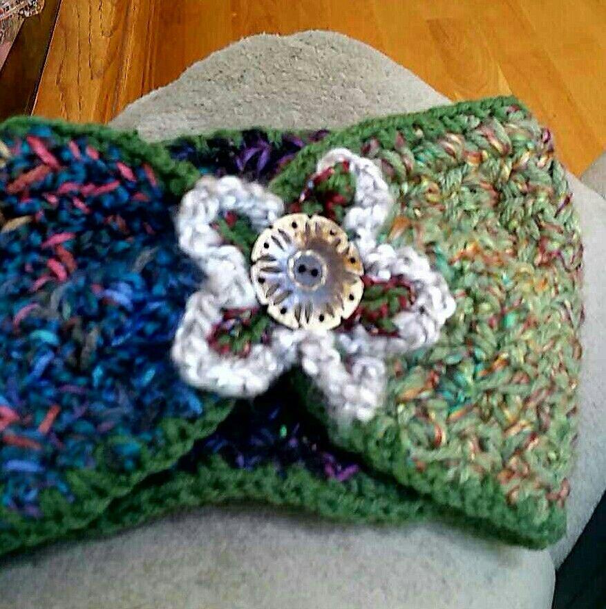 Little Girls Headband Crochet Headbands All Sizes Pinterest