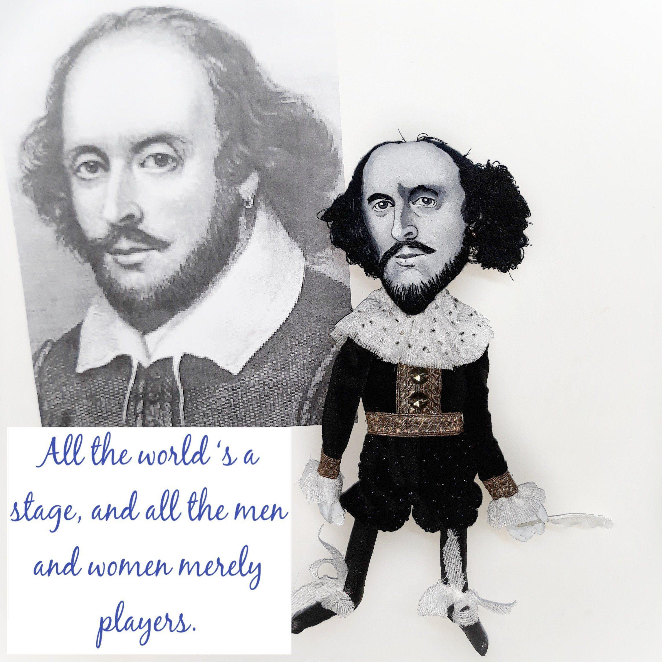 William Shakespeare Doll English Playwright Author