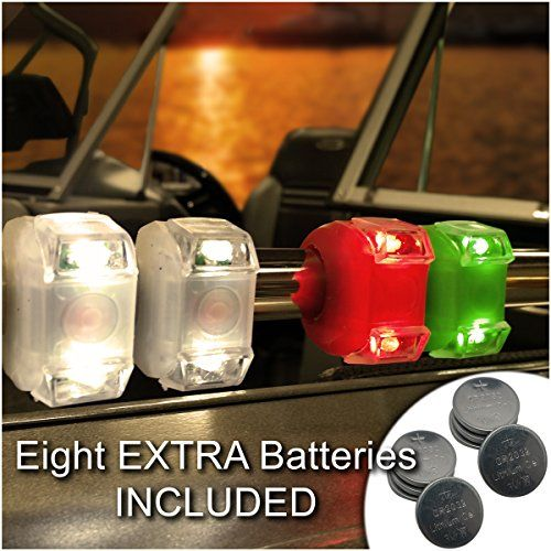 Amazing Bright Eyes Green Red White Portable Marine LED Emergency Waterproof  Boating Lights Boat Bow Or Stern Pictures Gallery