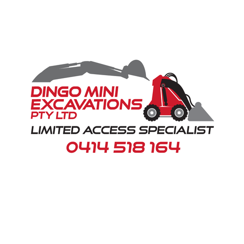 Dme Dingo Mini Excavations Create A Smart And Simple Logo For