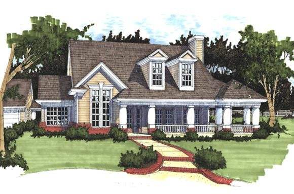 House Plan 9401 00025 Country Plan 1 883 Square Feet 3 Bedrooms 2 Bathrooms Country Style House Plans House Plans Farmhouse Cottage House Plans