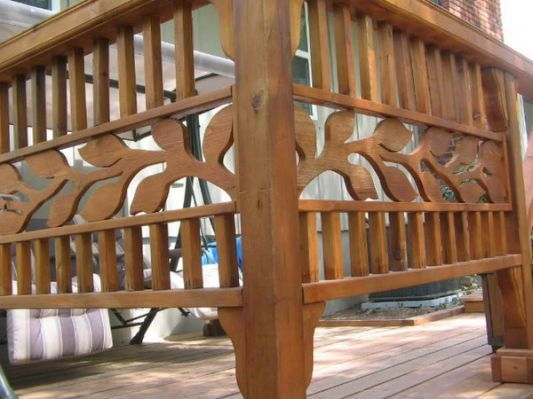ideas deck railing designs ideas - Deck Railing Design Ideas
