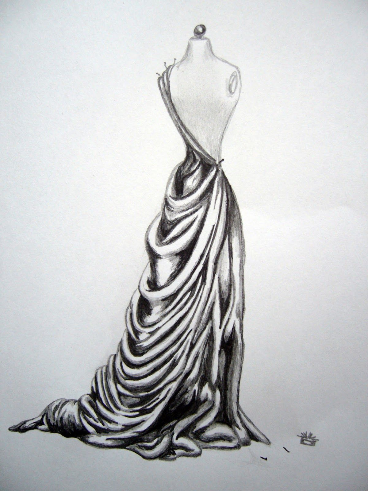 Inspirational drawings tumblr drawings of dresses with pencil