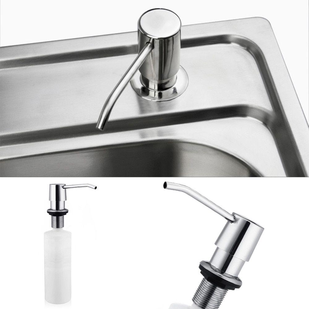 Bathroom Kitchen Hand Soap Dispensers Spray Liquid Soap Dispensers Plastic Bottle 220ml Kitchen Sink Replacement In 2020 Sink Soap Dispenser Soap Dispenser Hand Soap Dispenser