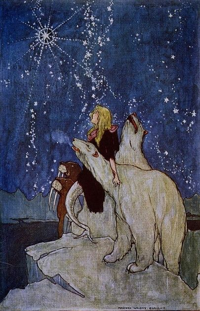 """""""Mermaid's Gift"""" - Maginel Wright Enright (1912.)"""