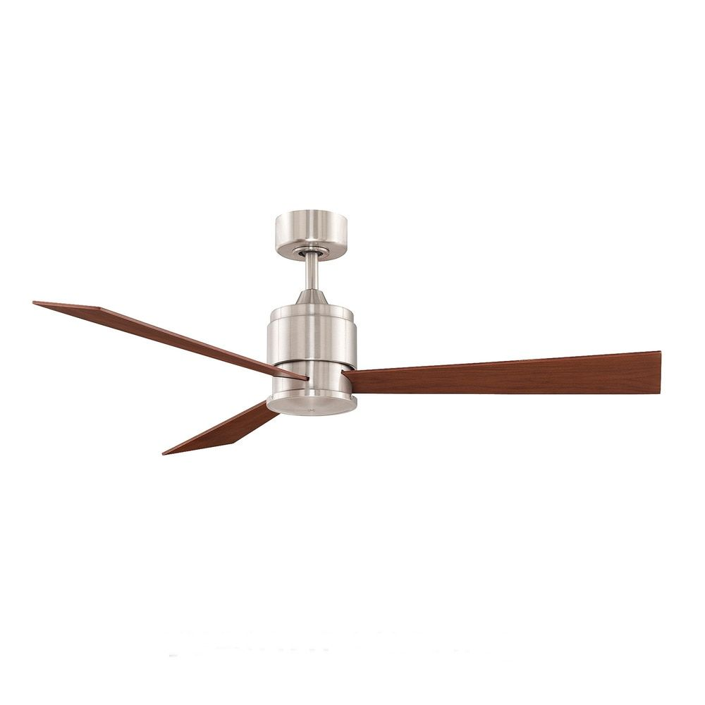 Fanimation zonix 54 inch brushed nickel ceiling fan overstock fanimation zonix 54 inch brushed nickel ceiling fan overstock shopping the mozeypictures Image collections