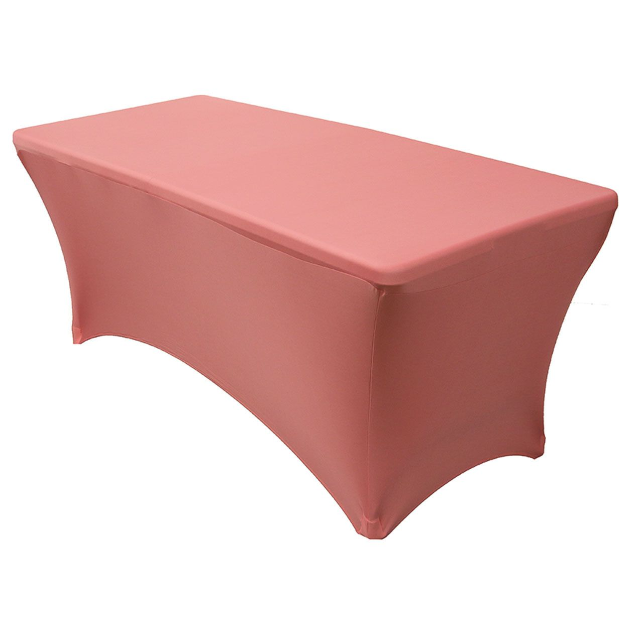 scuba chair covers wholesale best office mat for hardwood floors stretch spandex 6 ft rectangular table cover coral